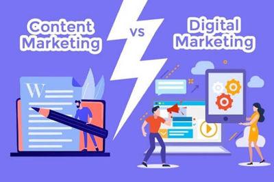 مقایسه و تفاوت بازاریابی محتوا و بازاریابی دیجیتال در چیست؟